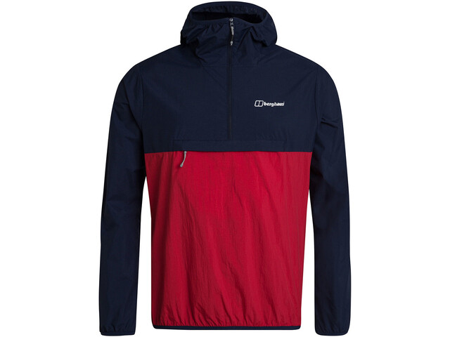 Berghaus Corbeck Windjack Heren, dusk/haute red